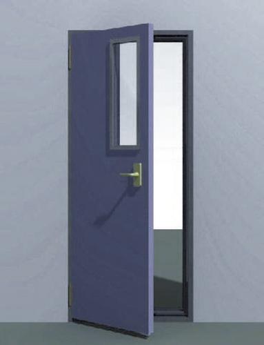 puerta acustica metalica